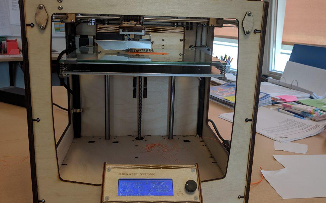 3D printer goedgekeurd!