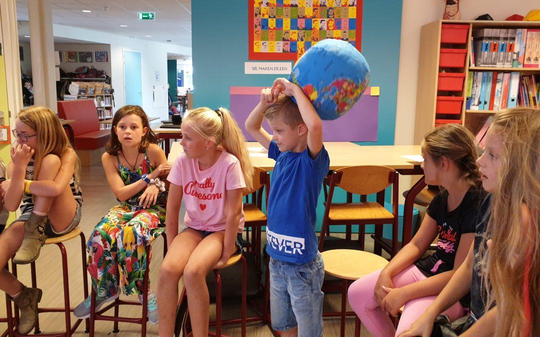 Schooljaar van start met eerste lessen Vreedzaam