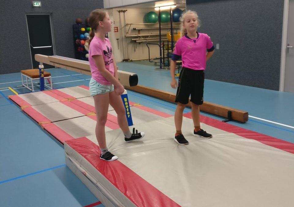 Gymles van Babs en Ilse