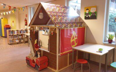 School in Sinterklaassfeer; zo gezellig!